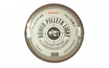 """Пуля пневм. """"Domed pellets Light"""", 0,45 г. 4,5 мм. (300 шт.) - купить (заказать), узнать цену - Охотничий супермаркет Стрелец г. Екатеринбург"""