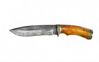 Нож Скиф, дам,литье рукоять из стабилизированной карельской березы - купить (заказать), узнать цену - Охотничий супермаркет Стрелец г. Екатеринбург