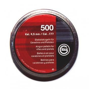 Пульки Geco 4,5 мм (500 шт./бан.) - купить (заказать), узнать цену - Охотничий супермаркет Стрелец г. Екатеринбург