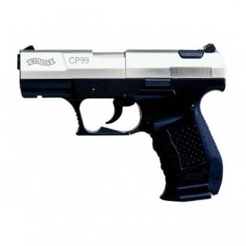 Пистолет пневм. Walther СР 99 (никель с чёрной рукояткой) - купить (заказать), узнать цену - Охотничий супермаркет Стрелец г. Екатеринбург