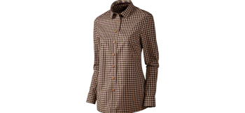 Рубашка Selja Lady L/S Check shirt Red/Black - купить (заказать), узнать цену - Охотничий супермаркет Стрелец г. Екатеринбург