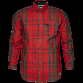 Рубашка Conroy Russet brown check - купить (заказать), узнать цену - Охотничий супермаркет Стрелец г. Екатеринбург