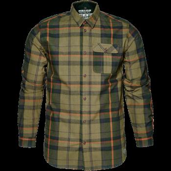Рубашка Conroy Duffel green check - купить (заказать), узнать цену - Охотничий супермаркет Стрелец г. Екатеринбург