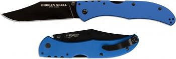 Нож CS_54SBLU Broken Skull 4 (Blue) -складной, сталь XHP, рукоять синяя - купить (заказать), узнать цену - Охотничий супермаркет Стрелец г. Екатеринбург