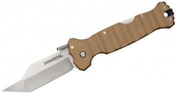 Нож CS_23GVB Immortal Coyote Tan - складной, сталь CTS-XHP, рукоять хаки - купить (заказать), узнать цену - Охотничий супермаркет Стрелец г. Екатеринбург