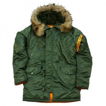 Куртка HUSKY DENALI RIFLE GREEN/ORANGE - купить (заказать), узнать цену - Охотничий супермаркет Стрелец г. Екатеринбург