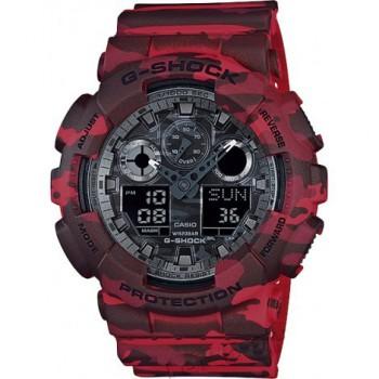 Часы CASIO G-SHOCK GA-100CM-4A - купить (заказать), узнать цену - Охотничий супермаркет Стрелец г. Екатеринбург