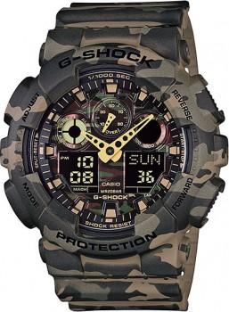 Часы CASIO G-SHOCK GA-100CM-5A - купить (заказать), узнать цену - Охотничий супермаркет Стрелец г. Екатеринбург