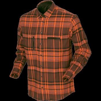 Рубашка Eide  Orange check - купить (заказать), узнать цену - Охотничий супермаркет Стрелец г. Екатеринбург