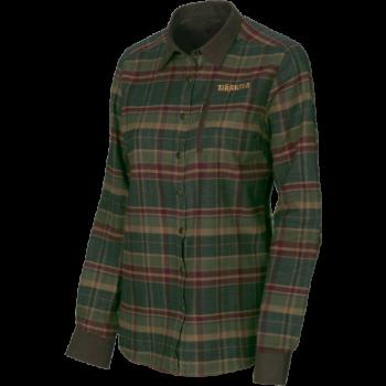 Рубашка Pajala Lady L/S  Rosin green check - купить (заказать), узнать цену - Охотничий супермаркет Стрелец г. Екатеринбург