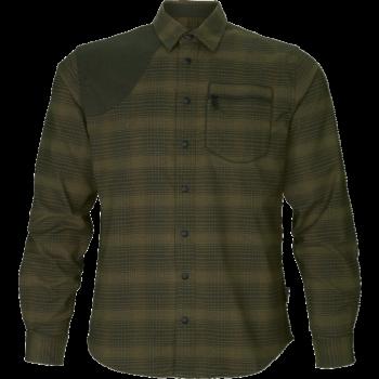 Рубашка Terrain Pine green check - купить (заказать), узнать цену - Охотничий супермаркет Стрелец г. Екатеринбург