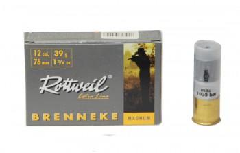 Патрон к.12х76 пуля Magnum Brenneke 39 DN 1уп/5шт - купить (заказать), узнать цену - Охотничий супермаркет Стрелец г. Екатеринбург