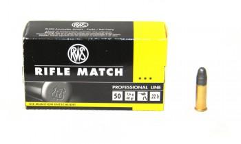Патрон к.22LR 40 Rifle Match DN 1уп/50шт - купить (заказать), узнать цену - Охотничий супермаркет Стрелец г. Екатеринбург