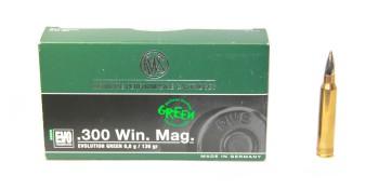 Патрон к.300WinMag 8,8гр EVO Green RWS 1шт - купить (заказать), узнать цену - Охотничий супермаркет Стрелец г. Екатеринбург