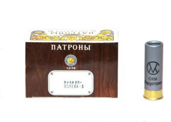 Патрон к.12х70 пуля Полева-3 СКМ 28гр 1уп/10шт - купить (заказать), узнать цену - Охотничий супермаркет Стрелец г. Екатеринбург
