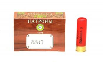 Патрон к.16х70 пуля Полева-3 СКМ 27гр 1уп/10шт - купить (заказать), узнать цену - Охотничий супермаркет Стрелец г. Екатеринбург