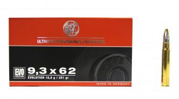 Патрон к.9,3х62 18,8гр Evolution Power Bonded RWS (н) - купить (заказать), узнать цену - Охотничий супермаркет Стрелец г. Екатеринбург