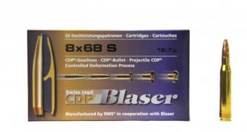 Патрон к.8х68 S 12.7гр CDP Blaser 1шт - купить (заказать), узнать цену - Охотничий супермаркет Стрелец г. Екатеринбург