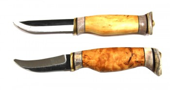Нож Puukko охотничья классическая спарка из 2-х ножей Wood Jewel 23 KI - купить (заказать), узнать цену - Охотничий супермаркет Стрелец г. Екатеринбург