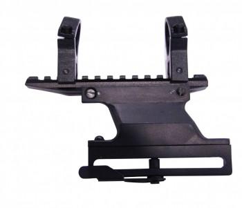 Кронштейн прицела боковой с планкой WEAWER, d-25,4 мм - купить (заказать), узнать цену - Охотничий супермаркет Стрелец г. Екатеринбург