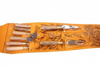 Набор шашлычный НШ-8 ХР (упр серия) - купить (заказать), узнать цену - Охотничий супермаркет Стрелец г. Екатеринбург