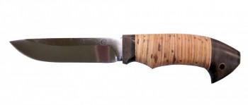 Нож Ястреб, Х12 МФ, кованая сталь, береста - купить (заказать), узнать цену - Охотничий супермаркет Стрелец г. Екатеринбург