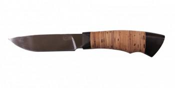 Нож Кулик, Х12 МФ, кованая сталь,береста - купить (заказать), узнать цену - Охотничий супермаркет Стрелец г. Екатеринбург