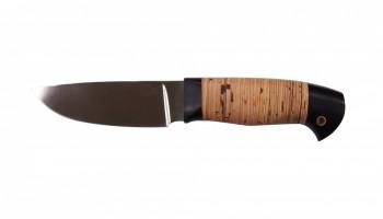 Нож Сокол, Х12 МФ, кованая сталь, береста - купить (заказать), узнать цену - Охотничий супермаркет Стрелец г. Екатеринбург