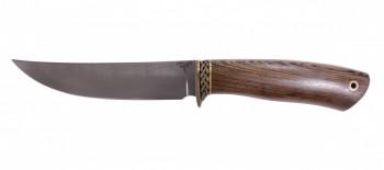 Нож 080 (145мм) легированный булат латунь мастер Пампуха И.Ю - купить (заказать), узнать цену - Охотничий супермаркет Стрелец г. Екатеринбург