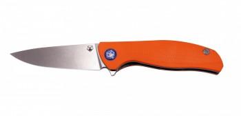 Нож МБШ [F3] Складной  95мм, Elmax, G-10 оранжевая 3D - купить (заказать), узнать цену - Охотничий супермаркет Стрелец г. Екатеринбург