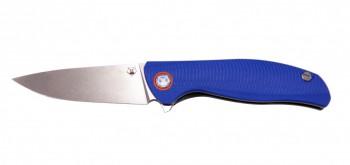 Нож МБШ [F3] Складной  95мм, Elmax, G-10 синяя 3D - купить (заказать), узнать цену - Охотничий супермаркет Стрелец г. Екатеринбург