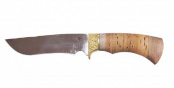 Нож Галеон, сталь 65х13, береста, литье - купить (заказать), узнать цену - Охотничий супермаркет Стрелец г. Екатеринбург