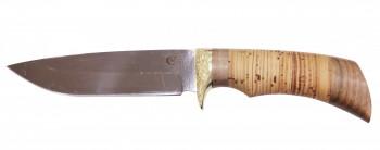Нож Лазутчик, сталь 65х13, береста, литье - купить (заказать), узнать цену - Охотничий супермаркет Стрелец г. Екатеринбург