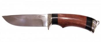 Нож Егерь, сталь N690, литье, наборная рукоять из ценных пород дерева - купить (заказать), узнать цену - Охотничий супермаркет Стрелец г. Екатеринбург