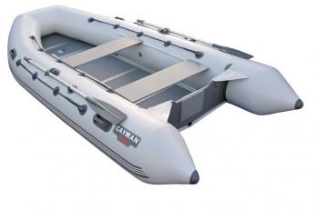 Лодка надувная Кайман N-400 серый - купить (заказать), узнать цену - Охотничий супермаркет Стрелец г. Екатеринбург