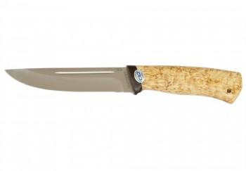 Нож Бекас туристический карельская береза 95х18 - купить (заказать), узнать цену - Охотничий супермаркет Стрелец г. Екатеринбург