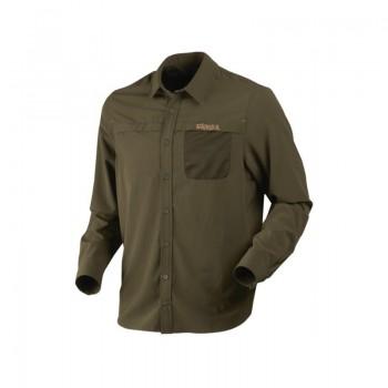 Рубашка Herlet Tech L/S  Willow green - купить (заказать), узнать цену - Охотничий супермаркет Стрелец г. Екатеринбург