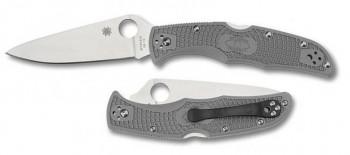 Нож Spyderco C10PGYW Endura IV Gray - купить (заказать), узнать цену - Охотничий супермаркет Стрелец г. Екатеринбург