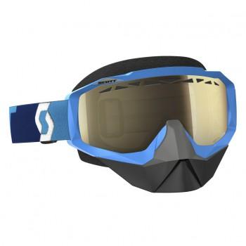 Очки Scott Hustle Snowcross Light Blue линза Bronze Chrome - купить (заказать), узнать цену - Охотничий супермаркет Стрелец г. Екатеринбург
