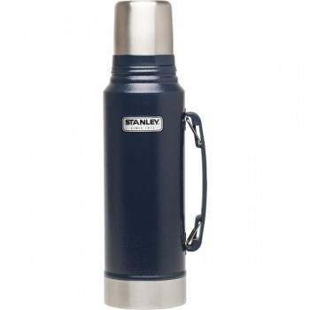 Термос Stanley Classic Vacuum Bottle Heritage 1.3L темно-синий - купить (заказать), узнать цену - Охотничий супермаркет Стрелец г. Екатеринбург