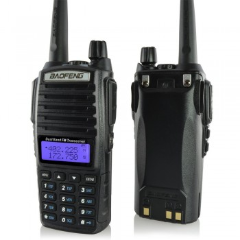 Радиостанция портативная Baofeng UV-82 (Black) - купить (заказать), узнать цену - Охотничий супермаркет Стрелец г. Екатеринбург