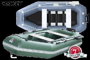 Лодка надувная YUKONA 280 GT зеленая без настила и транца - купить (заказать), узнать цену - Охотничий супермаркет Стрелец г. Екатеринбург