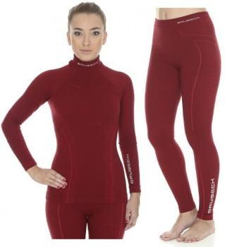 Комплект женский дл. рукав Wool Merino 78%  цвет бордо - купить (заказать), узнать цену - Охотничий супермаркет Стрелец г. Екатеринбург