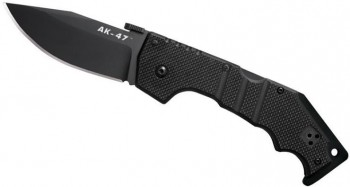 Нож Cold Steel AK-47 CS_58TLAK складной, рукоять G-10,сталь AUS 8A,замок Tri-Ad lock  - купить (заказать), узнать цену - Охотничий супермаркет Стрелец г. Екатеринбург