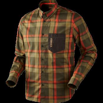 Рубашка Harkila Amlet Forest Green Check - купить (заказать), узнать цену - Охотничий супермаркет Стрелец г. Екатеринбург
