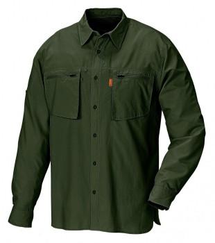 Рубашка Pinewood Angler зеленая - купить (заказать), узнать цену - Охотничий супермаркет Стрелец г. Екатеринбург