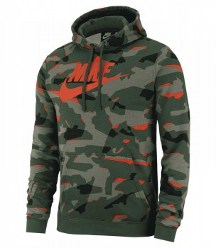 Толстовка Nike Sportswear Club Camo - купить (заказать), узнать цену - Охотничий супермаркет Стрелец г. Екатеринбург