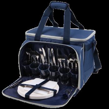 Набор для пикника Арктика 4100-6 синий с рисунком, 22 л - купить (заказать), узнать цену - Охотничий супермаркет Стрелец г. Екатеринбург