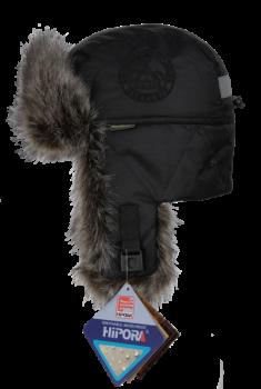 Шапка-ушанка NordKapp Talvi Badger MX Black арт.: 577 Цвет: черный - купить (заказать), узнать цену - Охотничий супермаркет Стрелец г. Екатеринбург