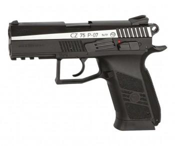 Пистолет пневматический ASG CZ-75 P-07 Duty DT, двуцветный - купить (заказать), узнать цену - Охотничий супермаркет Стрелец г. Екатеринбург